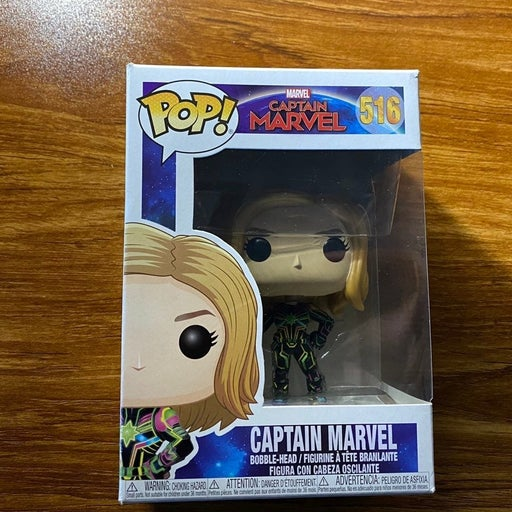Disney Marvel's Captain Marvel POP! Viny