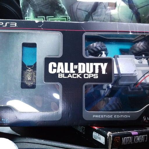 Call of duty prestige edition ps3