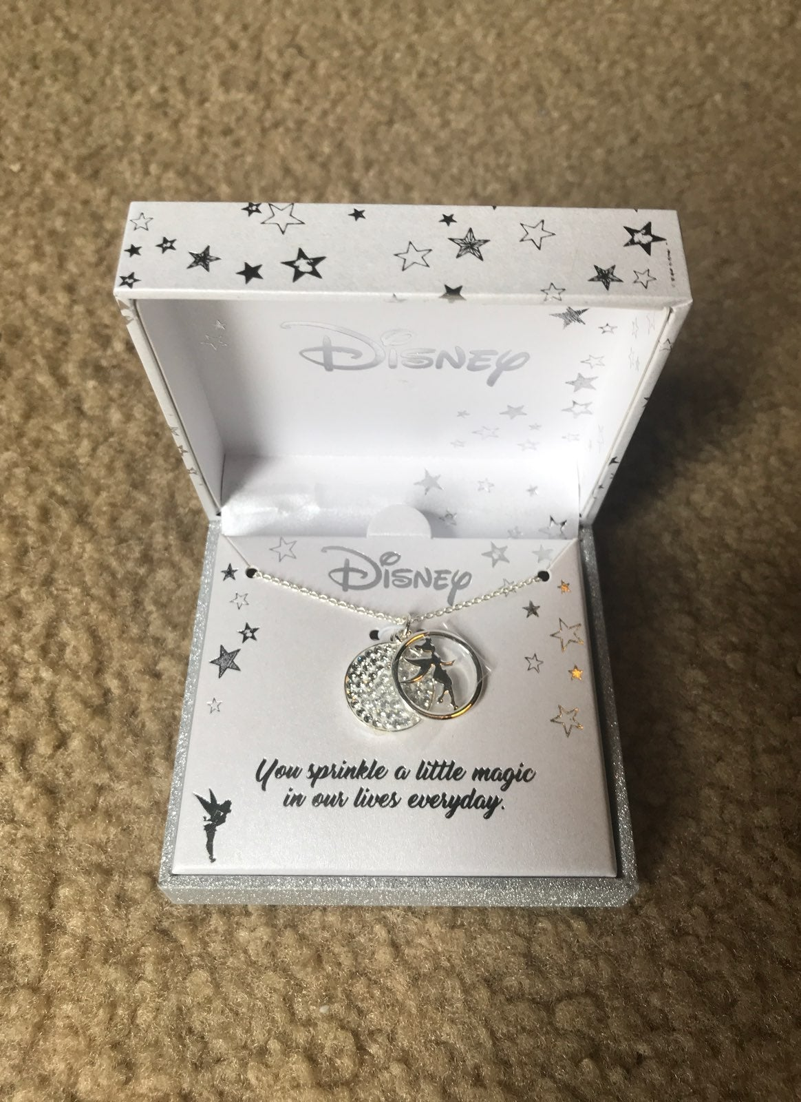 New Disney Tinkerbell Necklace