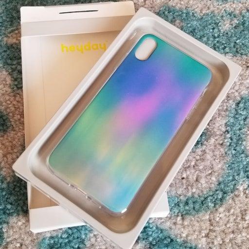 Multicolor iphone xs max case heydaay