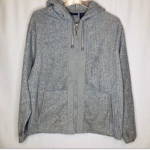 CATALINA Grey zip up  textured jacket
