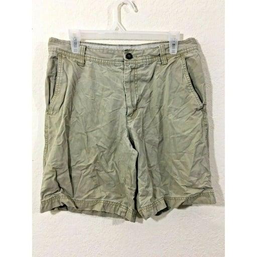 Men's Izod Saltwater Begie Khaki Shorts - Size 32