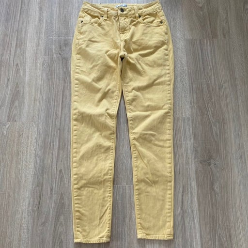 Blue Essence Yellow Denim Jean Sz 0