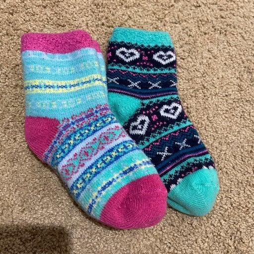 Lined Fireside cuddl duds girls socks (4