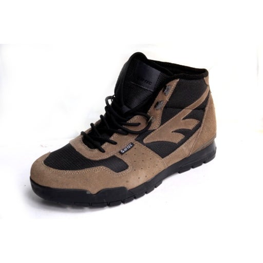 NWT hi tec ankle boots lace up suede smokey brown winter snow mens sz 13