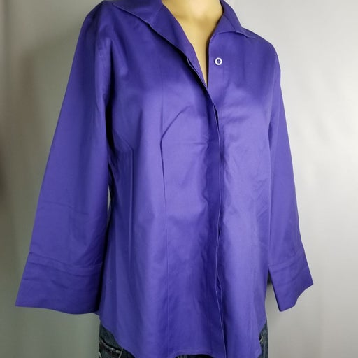 Chicos size O/S  womens blouse shirt  NW