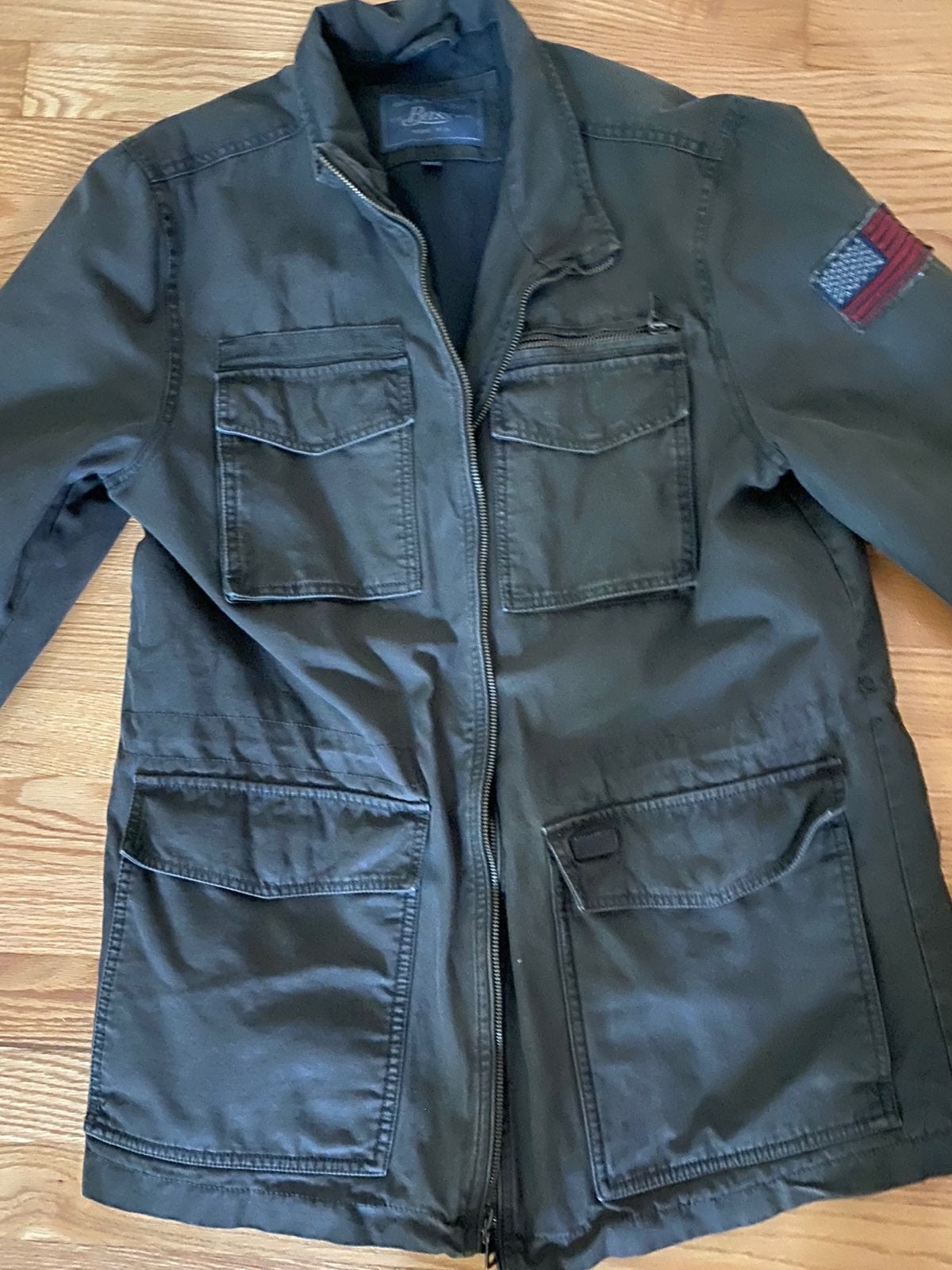 Bass army green Jacket