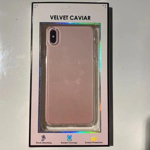 Velvet Caviar XS Max Plus Clear Case