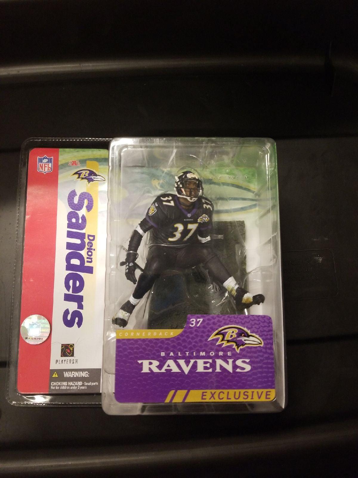 Deion Sanders Baltimore Ravens Exclusive