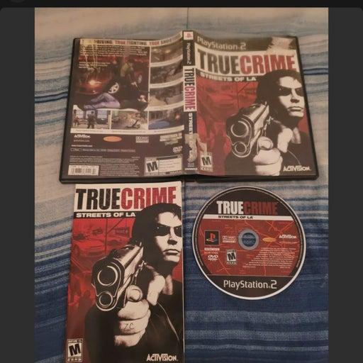 True Crime Streets of LA Playstation PS2