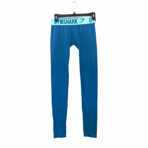 Gymshark Slate Blue and Turquoise Fit Womens Athletic Leggings  Size XS