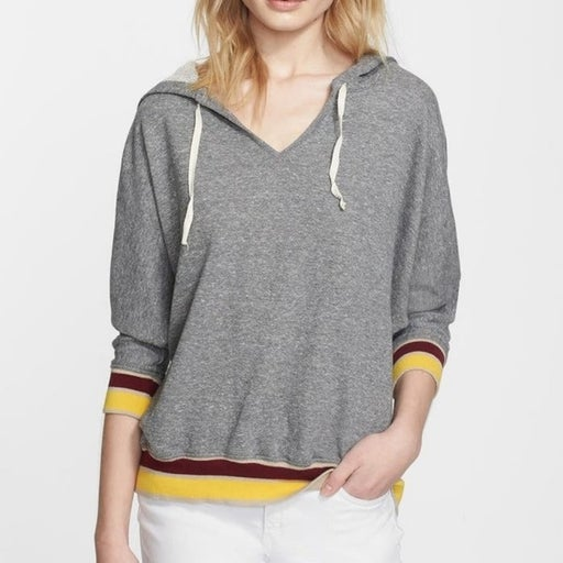 Current/Elliott Retro Hooded Sweatshirt