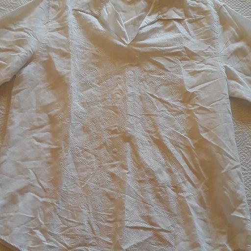Cubavera white mens shirt