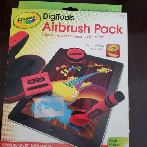 IPad Crayola Digitools Airbrush Pack