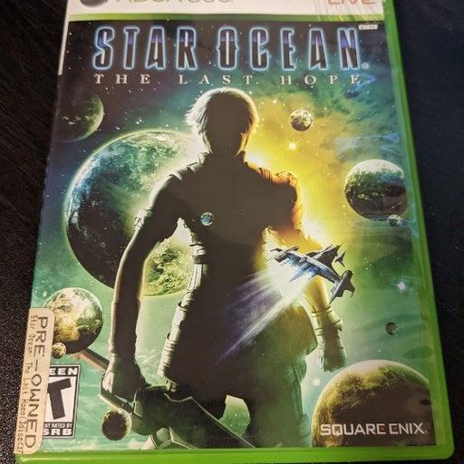 Star Ocean: The Last Hope (Microsoft Xbox 360, 2009) 3 Disc Set w/ Manual