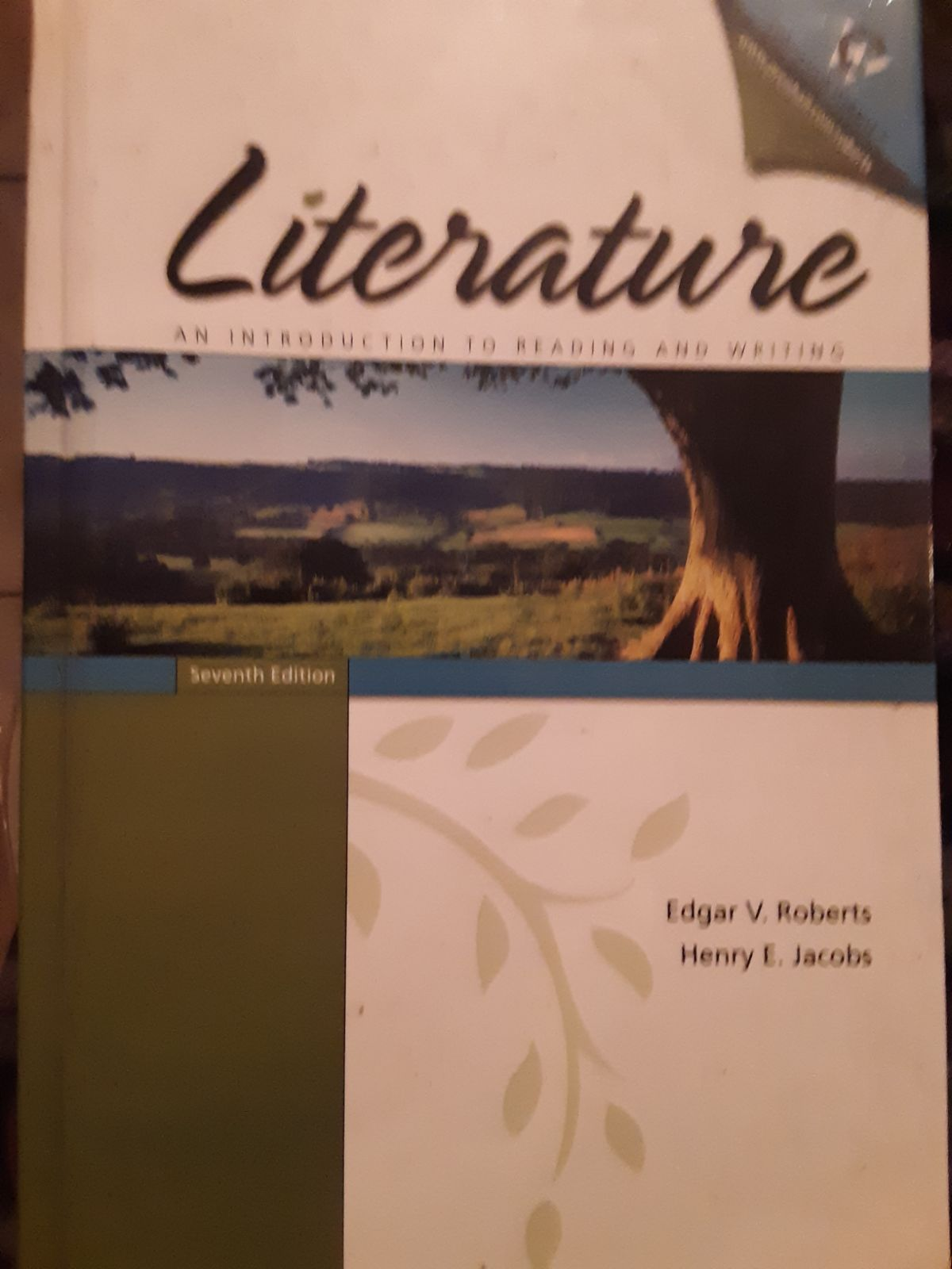 Literature: An Introduction, 7th Edition