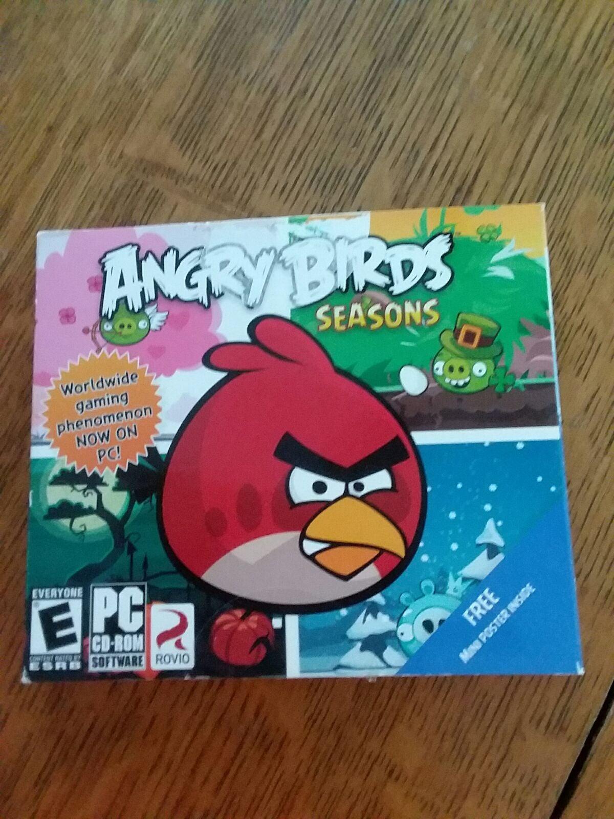 Angry Bird's Seasons PC CD-ROM