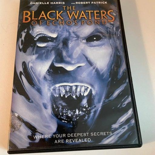 THE BLACK WATERS OF ECHO'S POND DVD Danielle Harris / Robert Patrick