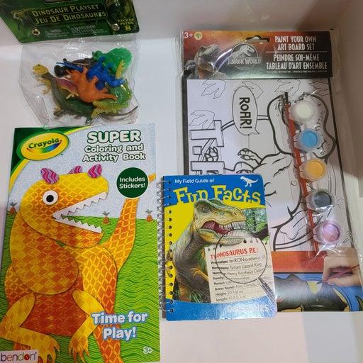Dinosaur Fun Pack -color, paint & more