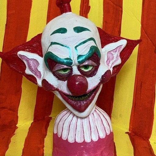 Slim killer klowns sculpture bust