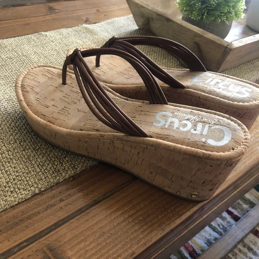 Practically new Sam Edelman Wedge Sandals