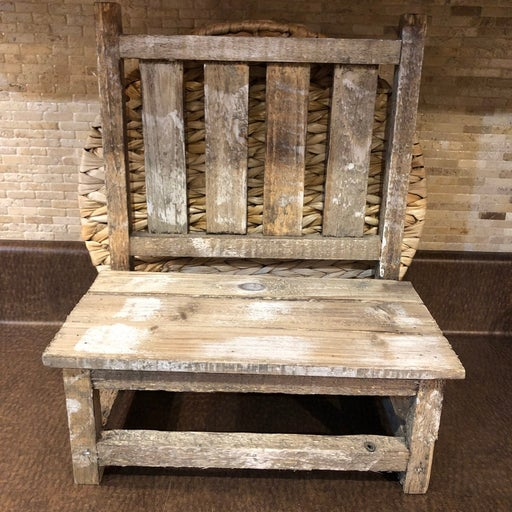 Country Rustic Decor/Bench Plant Stand