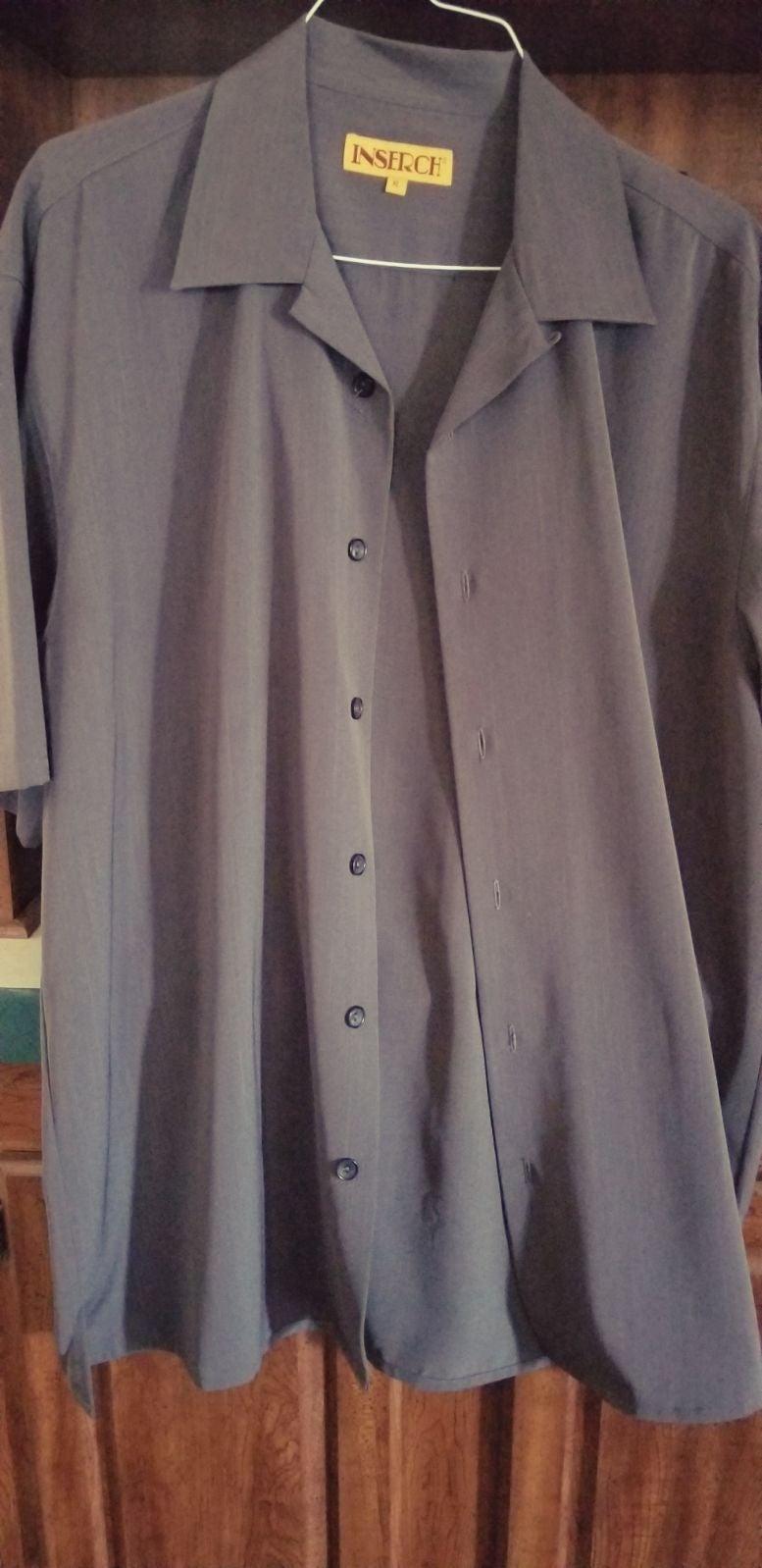 Inserch Dress Shirt men XL
