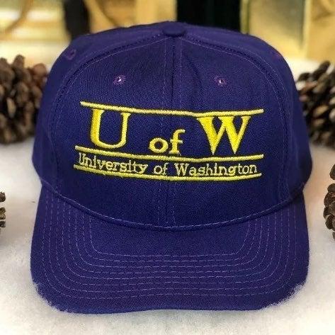 Vtg NCAA Washington Huskies Split Bar