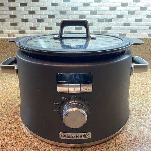 Calphalon Digital Saute Slow Cooker 5.3qt