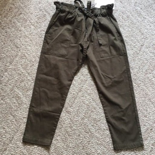Current/Elliott The Tabloid Cropped Pant