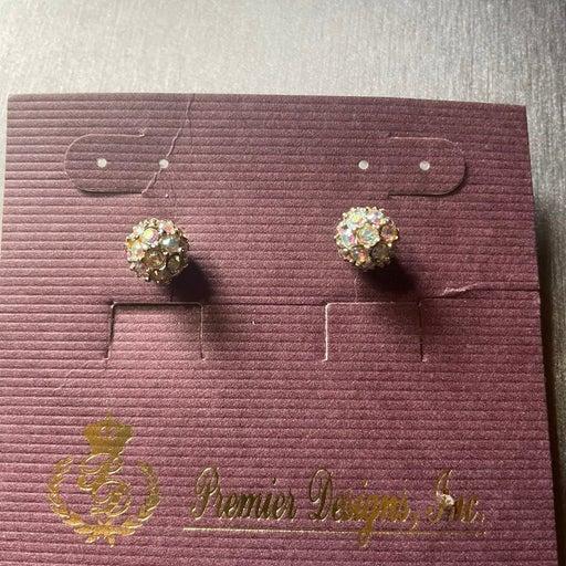 Premier Designs rhinestone earrings
