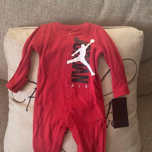 Air Jordan infant Footi Sleeper Sz 3mth