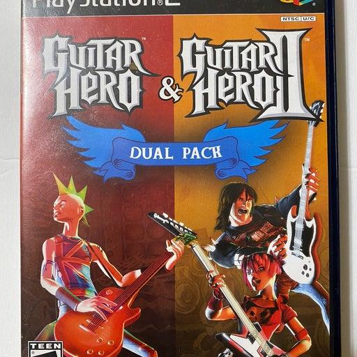 Guitar Hero 1, 2 & 3 Playstation 2 Game Bundle
