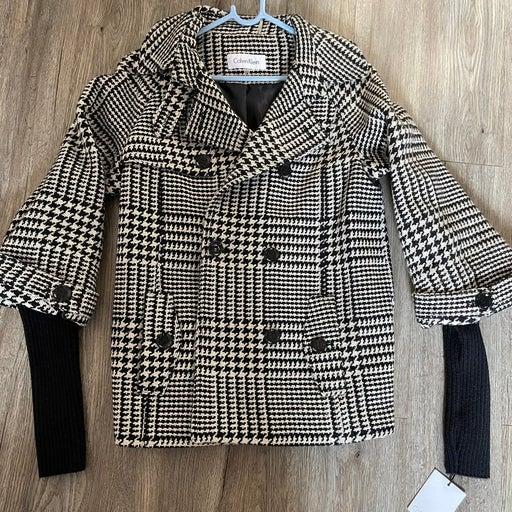 Wool Blend Coat Calvin Klein- NWT