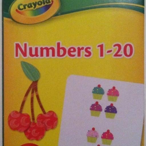 Crayola 1-20 Kids Flash Cards
