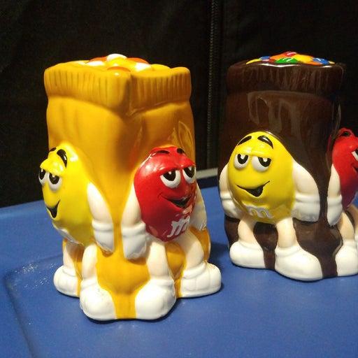 M & M's Salt & Pepoer Shakers