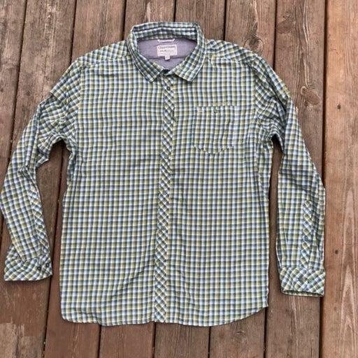 Craghoppers Plaid Button Down Sun Protective Shirt