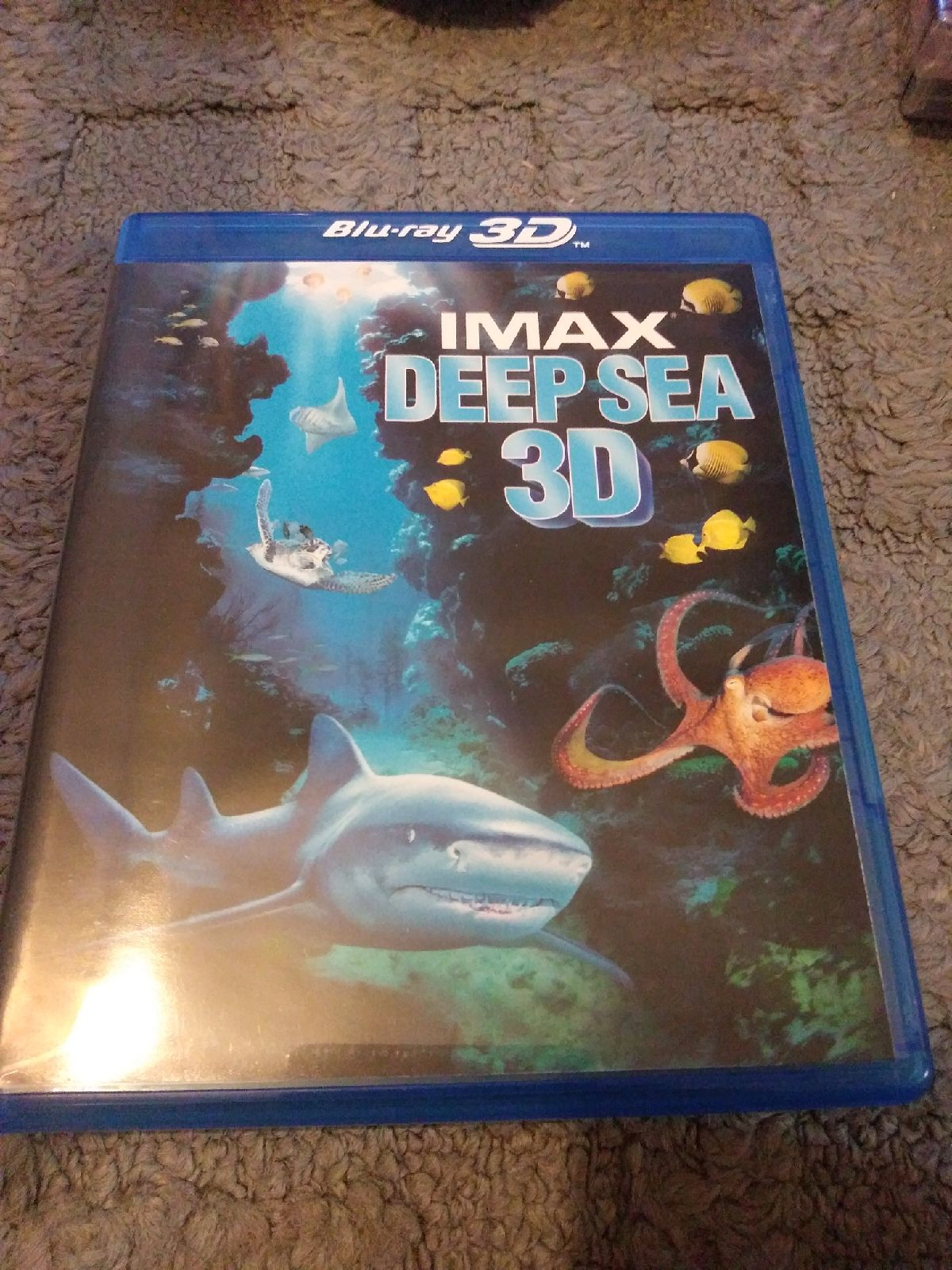 Imax deep sea 3d blu ray