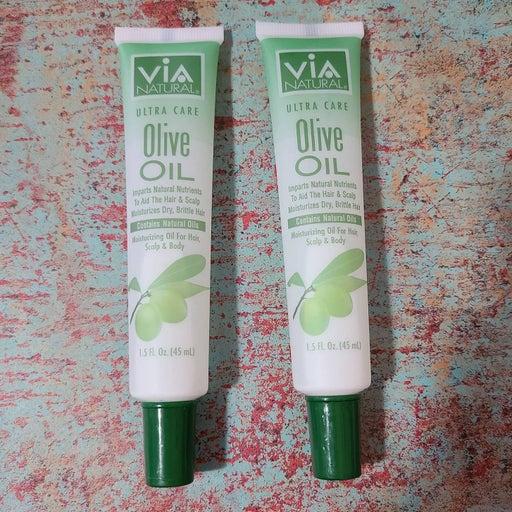 NWOT 2 Via Natural Ultra Care Olive Oil