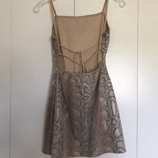 Urban Outfitters Snake Print Dress