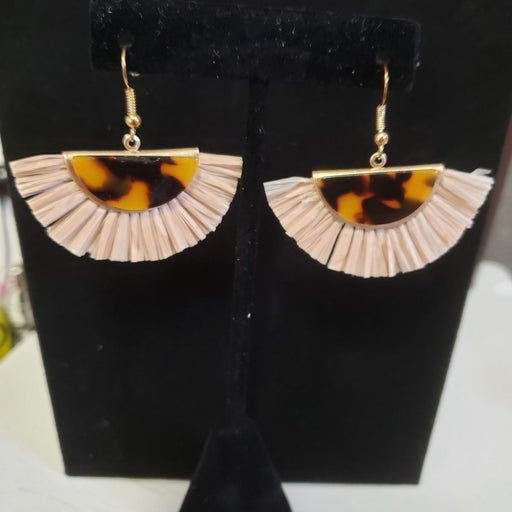 Palm Fringe earrings