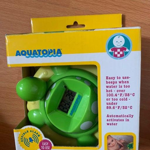 Turtle bath thermometer