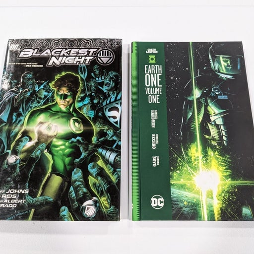 Green Lantern Blackest Night Year One HC