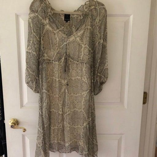Ella Moss 100% silk dress