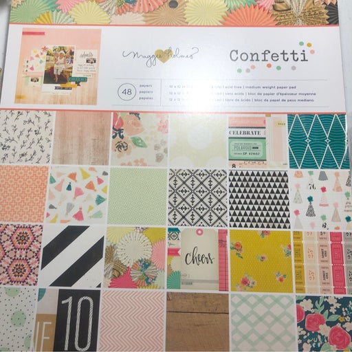 Maggie Holmes Confettie 12x12 Paper Pad
