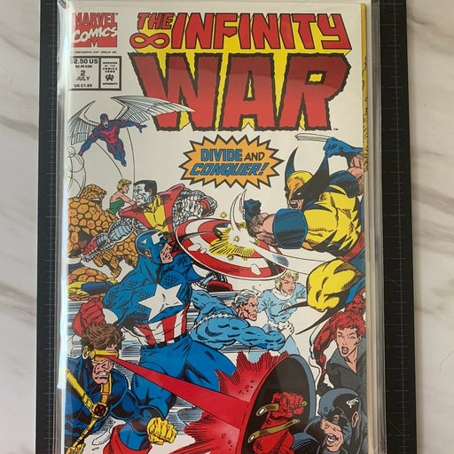 Marvel The Infinity War comic