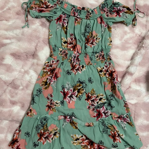 Floral dress from Express