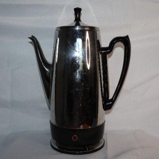 GE Coffee Percolator 12 cups