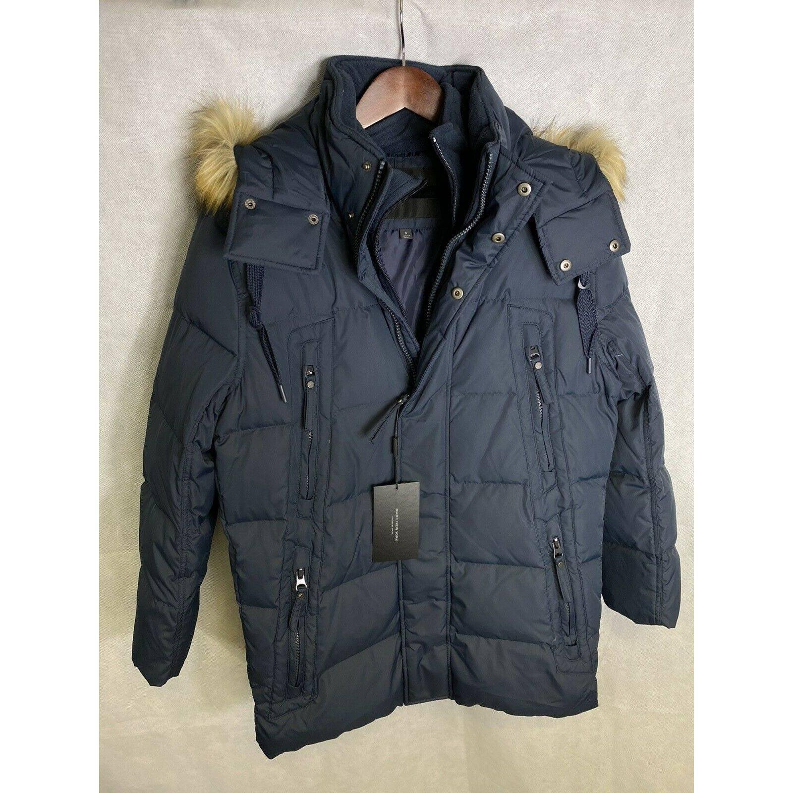 Marc New York Men's Jacket Navy Blue S