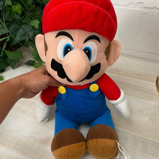 Super Mario Bros Jumbo Plush